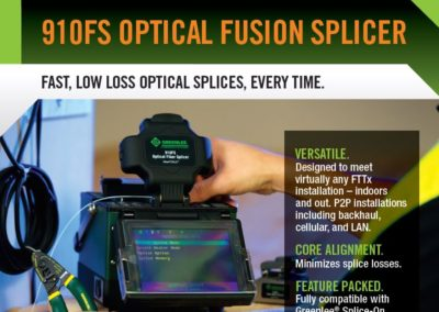 Greenlee – Optical Fusion Splicer