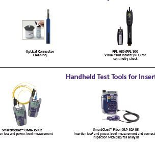 VIAVI Test and Monitoring Solutions for Fiber to the Home (FTTH)