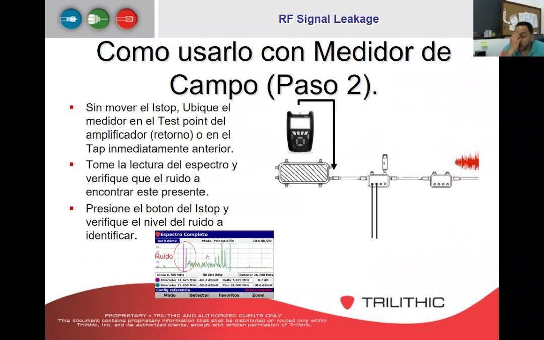 Explicacion de Uso del ISTOP con medidor de campo